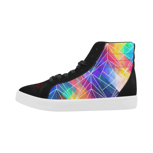 Premium Luxury Streetwear Skate High Top Skate Shoes Bright Colours From London, UK No fixed Abode Left