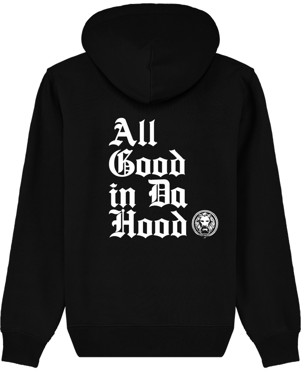 All Good in Da Hood Organic Hoodie