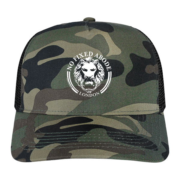 No Fixed Abode Luxury Streetwear Keg Snapback Caps Hats Camo