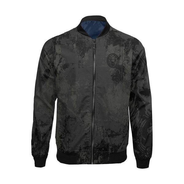Ink Mens Black Bomber Front No Fixed Abode