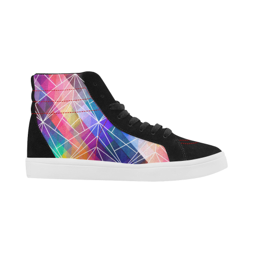 Premium Luxury Streetwear Skate High Top Skate Shoes Bright Colours From London, UK No Fixed Abode Right