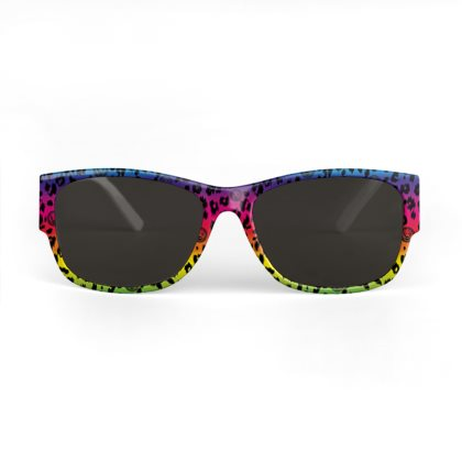 Rainbow Leopard Sunglasses