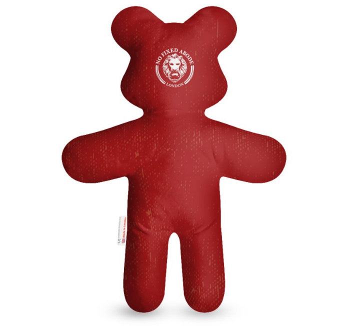 Red Teddy Bear Gift Kids Red Luxury Streetwear No Fixed Abode.jpg