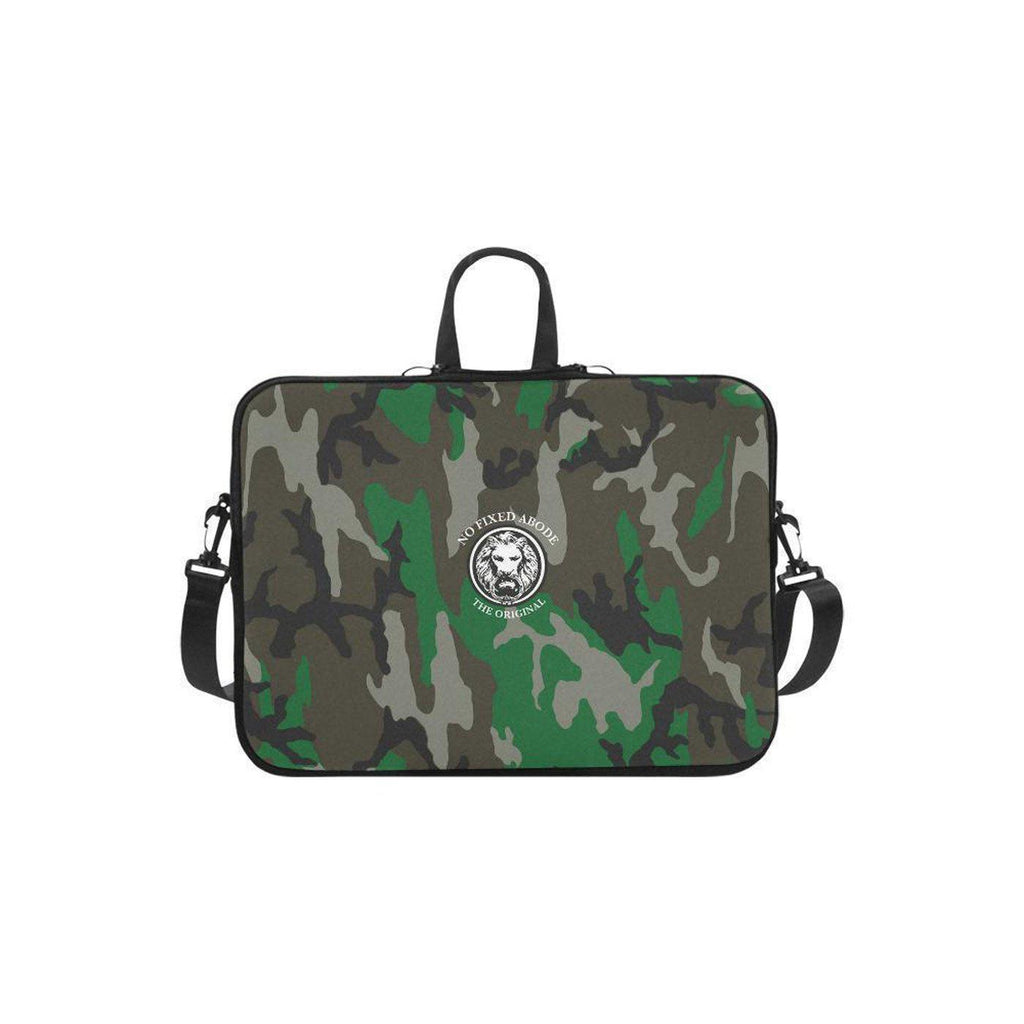 "NO FIXED ABODE,Apple Mac Book Air 11"" Laptop Carry Bag NFA The Original Green Camo,Laptop Cases,One size"