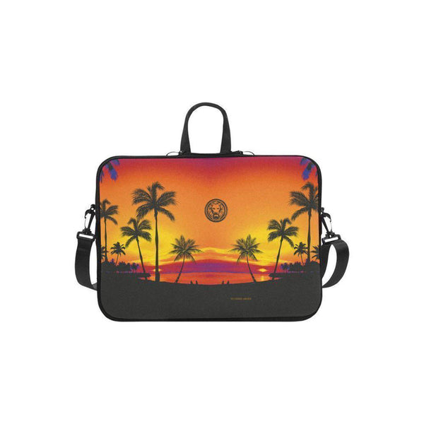 "NO FIXED ABODE,Apple Mac Book Air 11"" Laptop Carry Bag Tropical Palm Trees,Laptop Cases,One size"