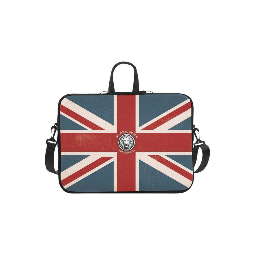 "NO FIXED ABODE,Apple Mac Book Air 11"" NFA The Original Union Jack Laptop Carry Case,Laptop Cases,One size"