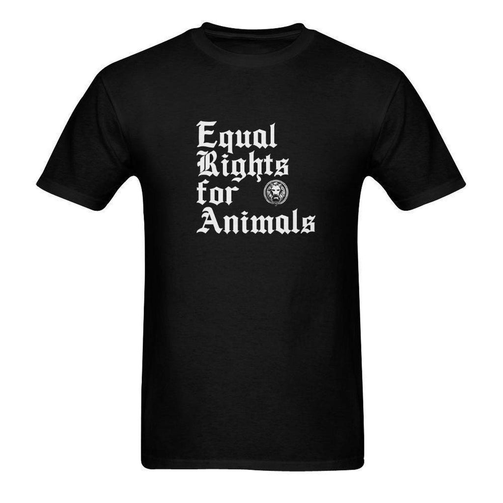 NO FIXED ABODE,Equal Rights for Animals Men's T-shirt,T-shirts,S