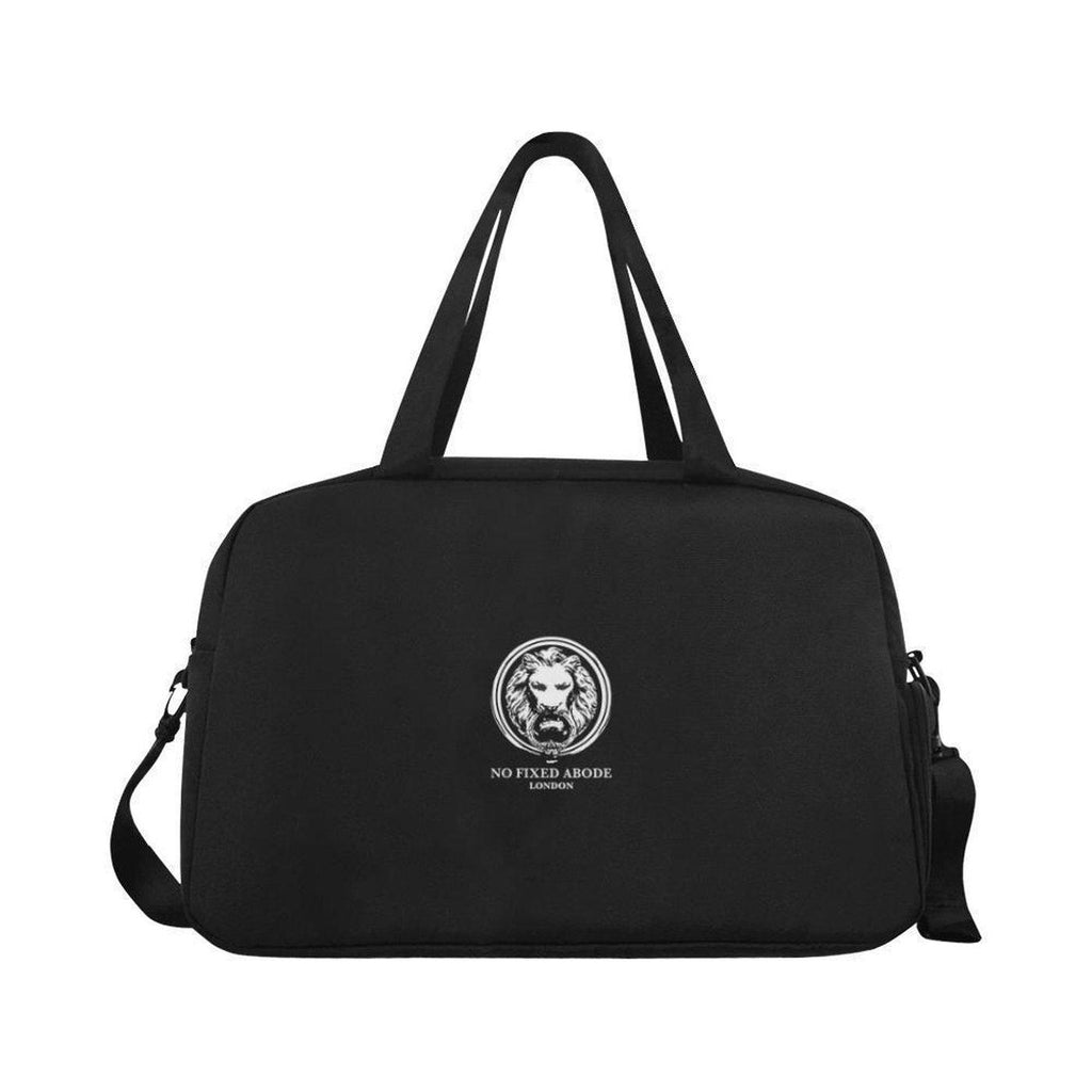 NO FIXED ABODE,Lion London Black Weekend Travel Bag,BAGS,One Size
