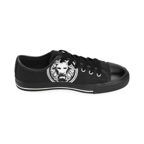 Mens Black Classic Canvas Large Size Shoes,Footwear,NO FIXED ABODE,[uk],[luxury_streetwear],[free_shipping]