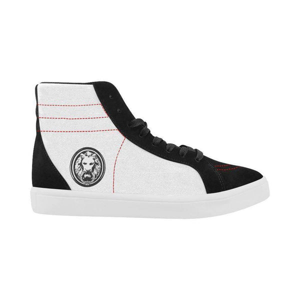 Mens Black & White Skate High Tops,Footwear,NO FIXED ABODE,[uk],[luxury_streetwear],[free_shipping]