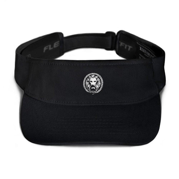 NFA Lion Visor-Hats-Black-NO FIXED ABODE Luxury Streetwear UK