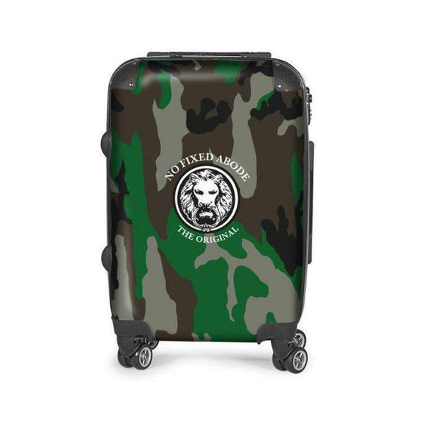 NFA The Original Camo Carry on Suitcase-Bags-NO FIXED ABODE Luxury Streetwear UK