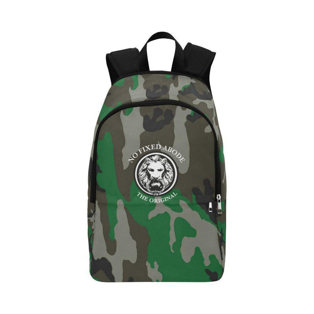 NO FIXED ABODE,NFA The Original Green Camo Adult Back Pack,BAGS,One Size