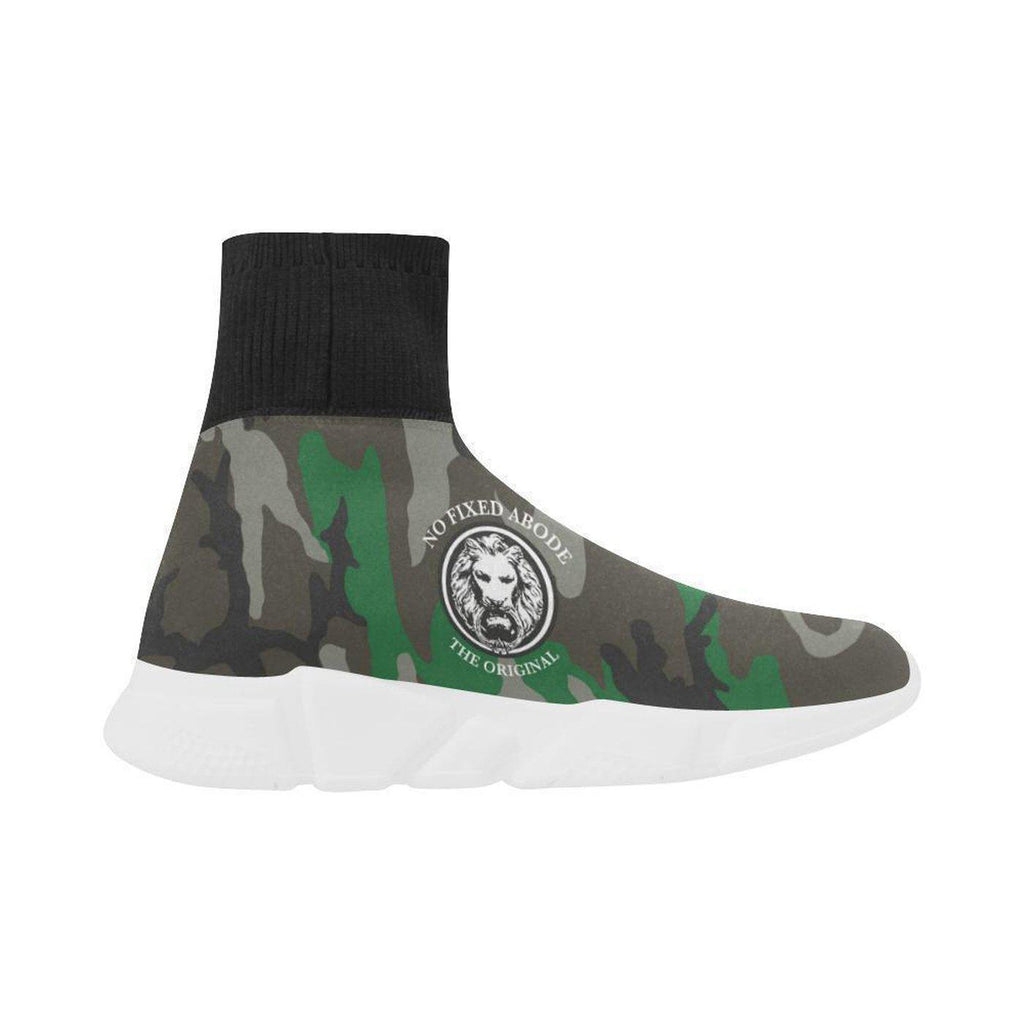 NFA The Original Green Camo Mens Sock Style Shoes,Footwear,NO FIXED ABODE,[uk],[luxury_streetwear],[free_shipping]