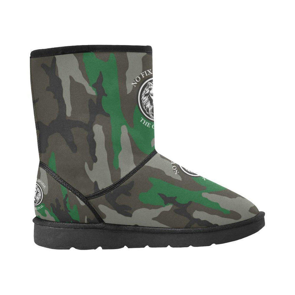 NO FIXED ABODE,NFA The Original Green Camo Snow Boots,Footwear,US5.5