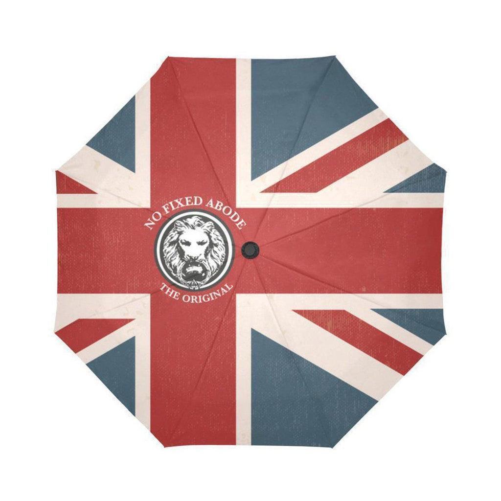 NO FIXED ABODE,NFA The Original Union Jack Auto-Foldable Umbrella,Accessories,One Size