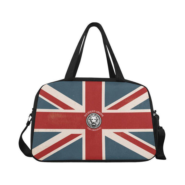 NO FIXED ABODE,NFA The Original Union Jack Weekend Bag Neo Travel Bag,BAGS,One Size