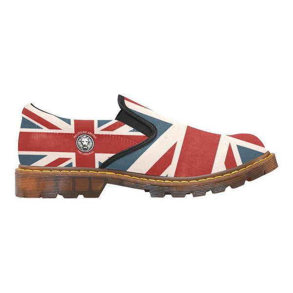 NFA The Original Union Jack Womens Combat Slip Ons,Footwear,NO FIXED ABODE,[uk],[luxury_streetwear],[free_shipping]