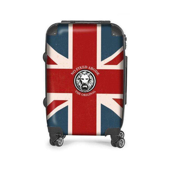 NFA Union Jack Carry on Suitcase,Bags,NO FIXED ABODE, uk, luxury_streetwear, free_shipping]