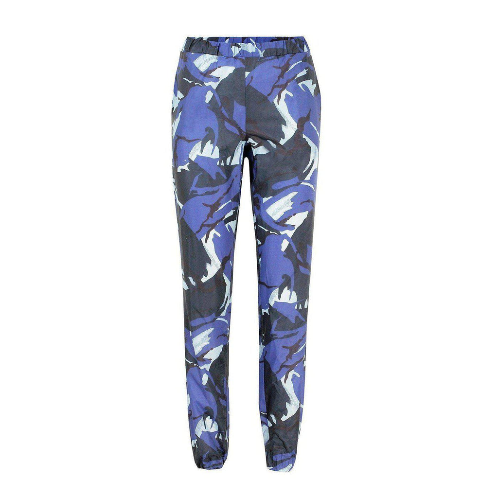 NO FIXED ABODE,Rachel Camouflage Trackies,Trousers,Default Title / S / MEDIUM