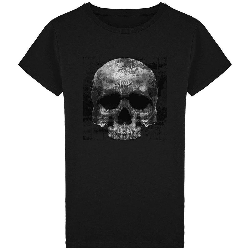 NO FIXED ABODE,Skull Ink T-Shirt Mens,T-Shirts,Black / S