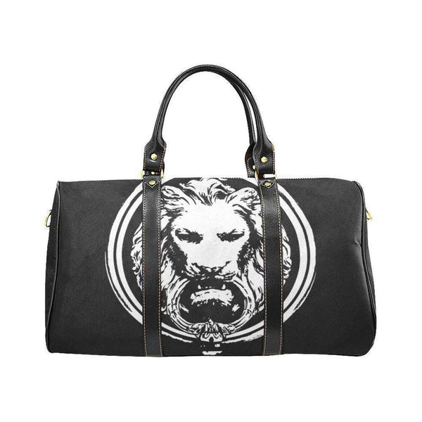 Small Black Handle Waterproof Lion Travel bag-Bags-One Size-NO FIXED ABODE Luxury Streetwear UK