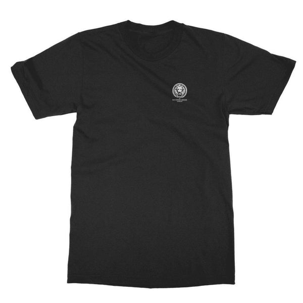 NO FIXED ABODE,Small Lion Collection Adult T-Shirt,T-Shirts,Black / Unisex / S