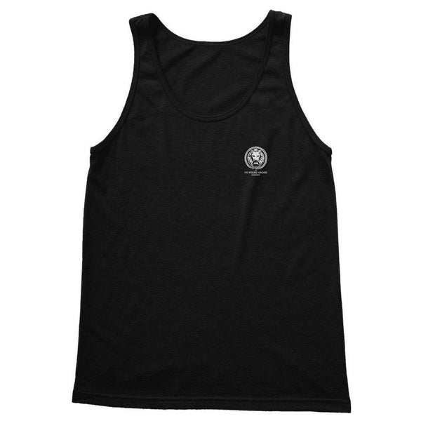 Small Lion Collection Adult Tank Top-Tank Tops-Black-S-NO FIXED ABODE Luxury Streetwear UK