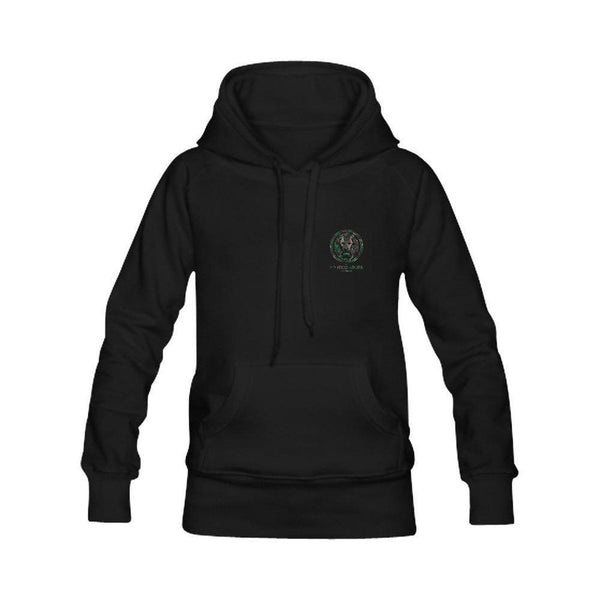 Womens Camo Circle black hoodie back large print,Sweatshirts,NO FIXED ABODE,[uk],[luxury_streetwear],[free_shipping]