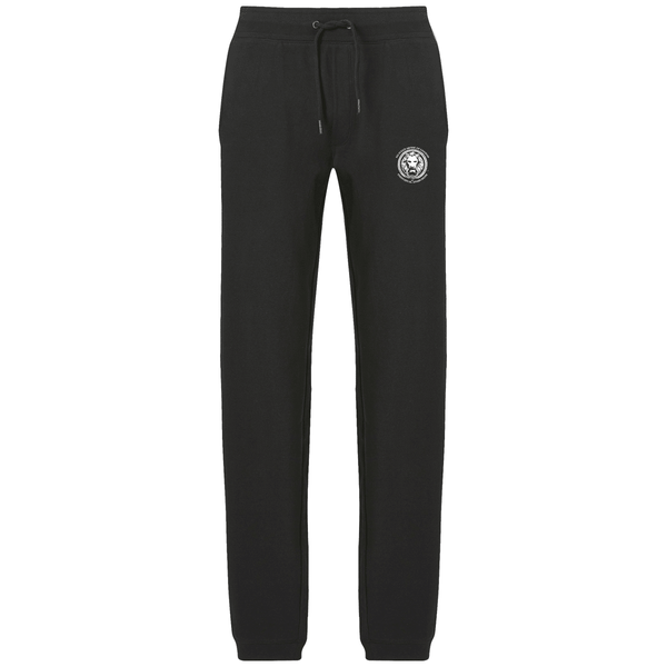Womens Joggers-Joggers-Black-S-NO FIXED ABODE Luxury Streetwear UK
