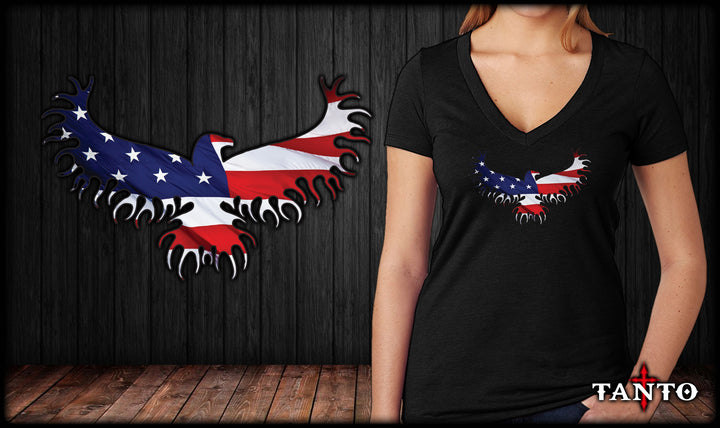 Freedom Eagle V-Neck