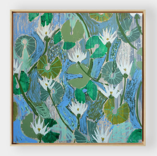 Aquatic Plant No. 17 - 48 x 48