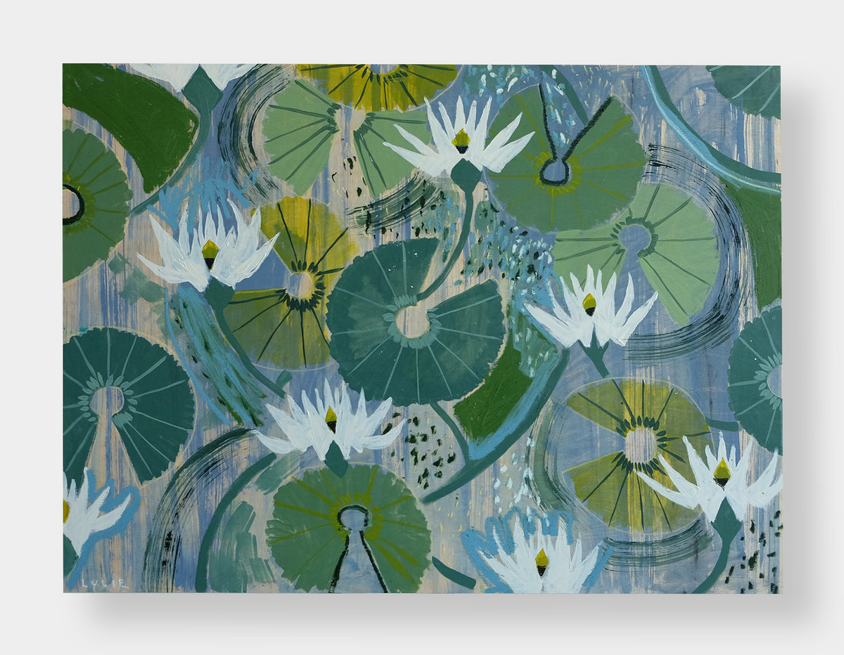 Aquatic Plant No. 2 - 30 x 40