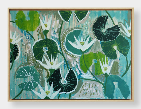 Aquatic Plant No. 3 - 30 x 40