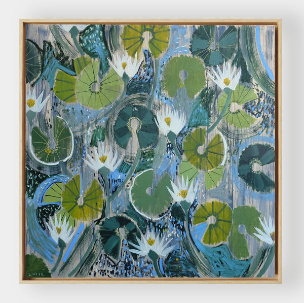 Aquatic Plant No. 20 - 48 x 48