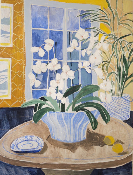 Potted Orchid No. 17 - 36 x 48