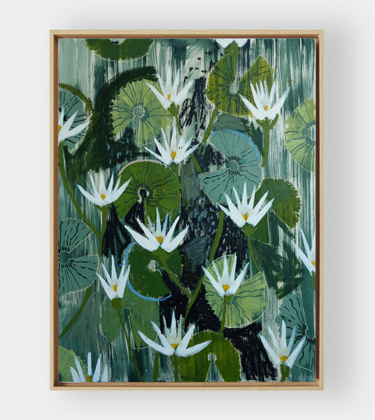 Aquatic Plant No. 15 - 36 x 48