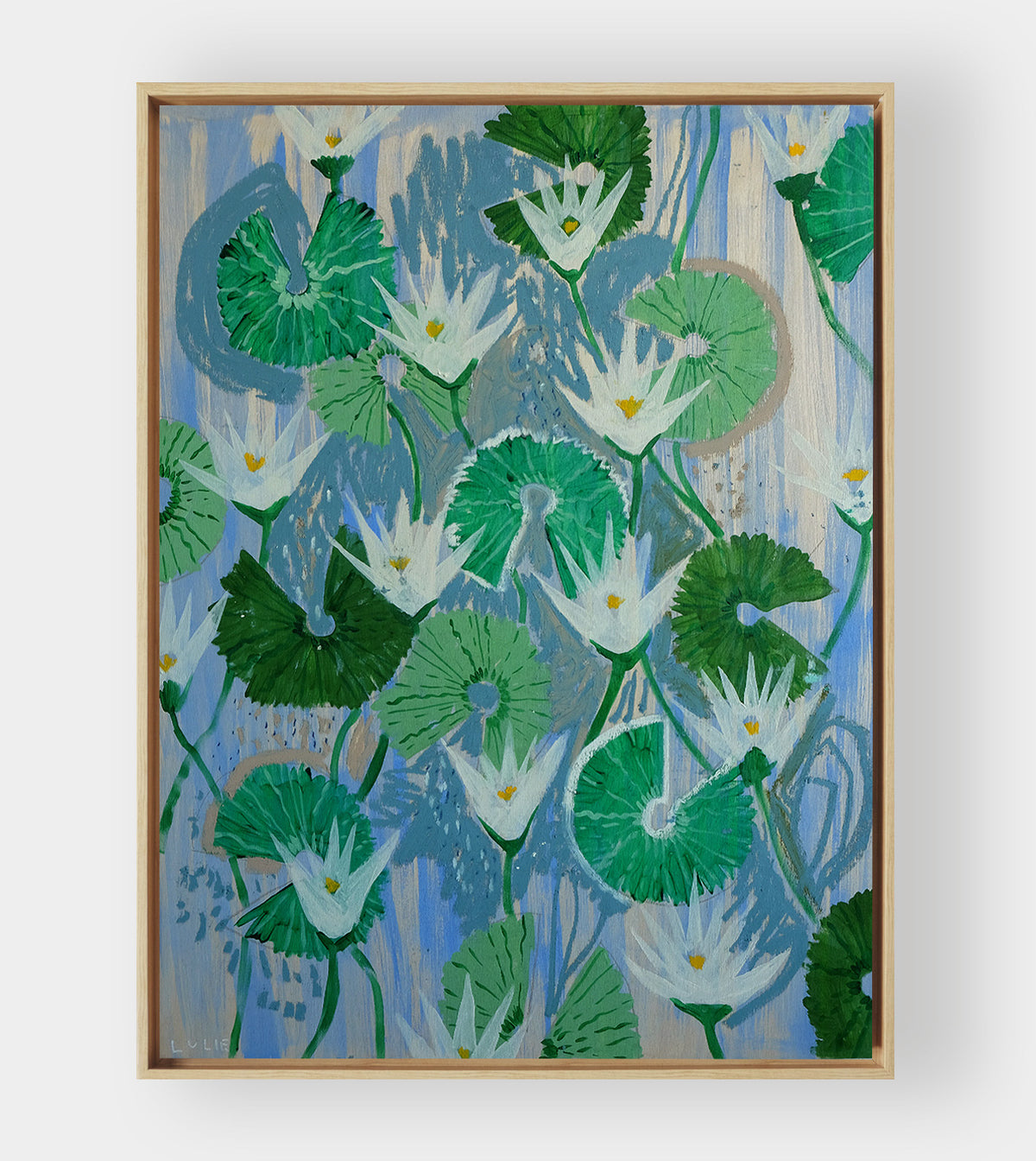 Aquatic Plant No. 13 - 36 x 48