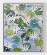 Aquatic Plant No. 14 - 36 x 48