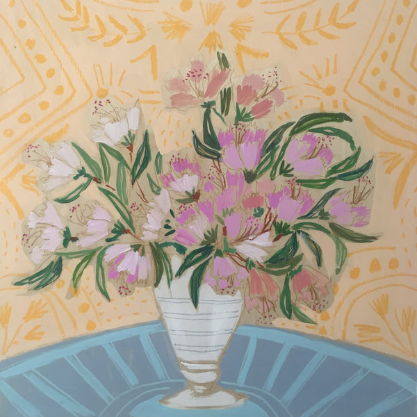 AZALEAS -  FLOWERS FOR FLORENCE - 24X24