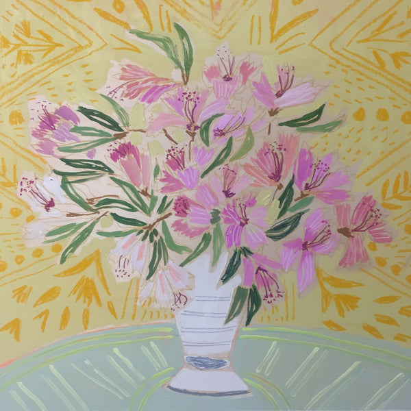 AZALEAS - FLOWERS FOR HENLEY - 24X24