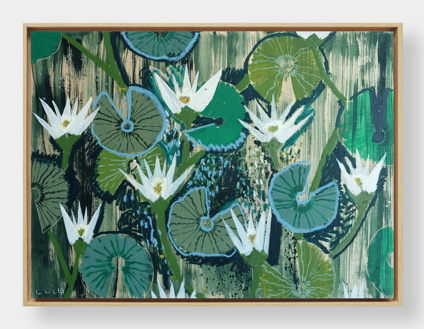 Aquatic Plant No. 5 - 30 x 40