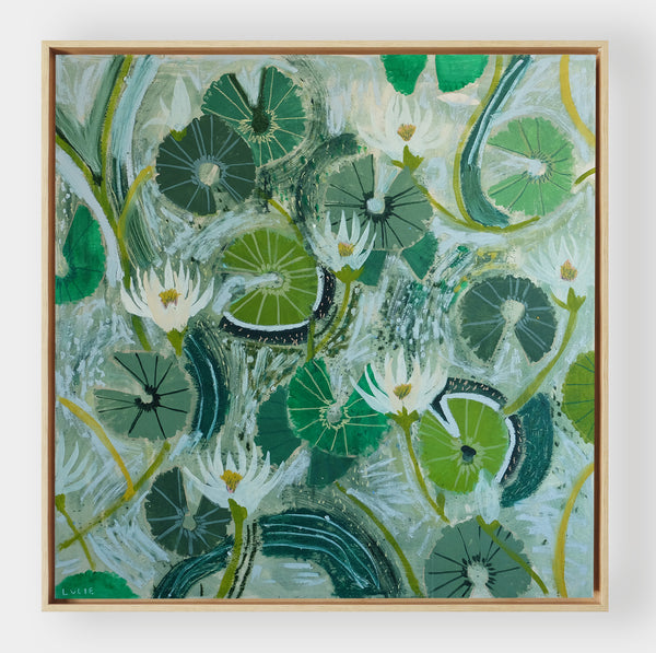 Aquatic Plant No. 18 - 48 x 48