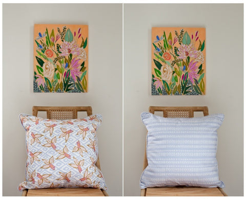 DAFFODIL & DASH PILLOW