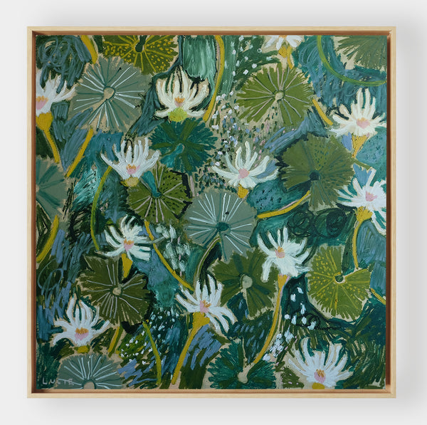 Aquatic Plant No. 19 - 48 x 48