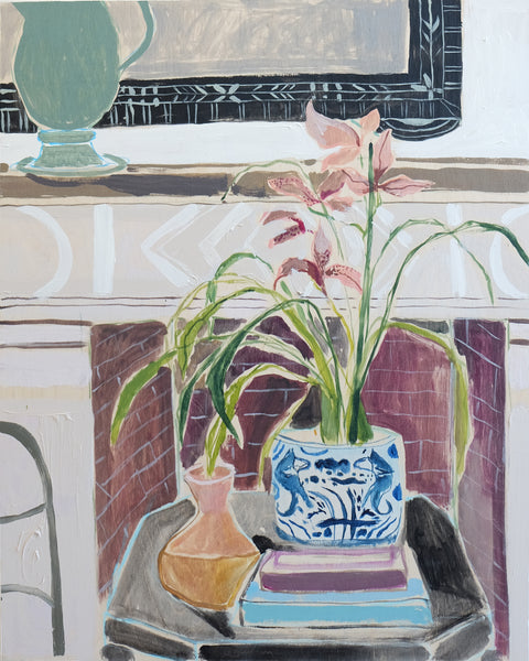 Potted Orchid No. 7 - 24 x 30