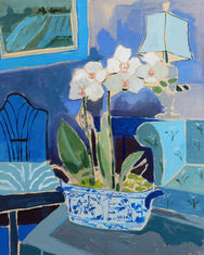 Potted Orchid No. 6 - 24 x 30
