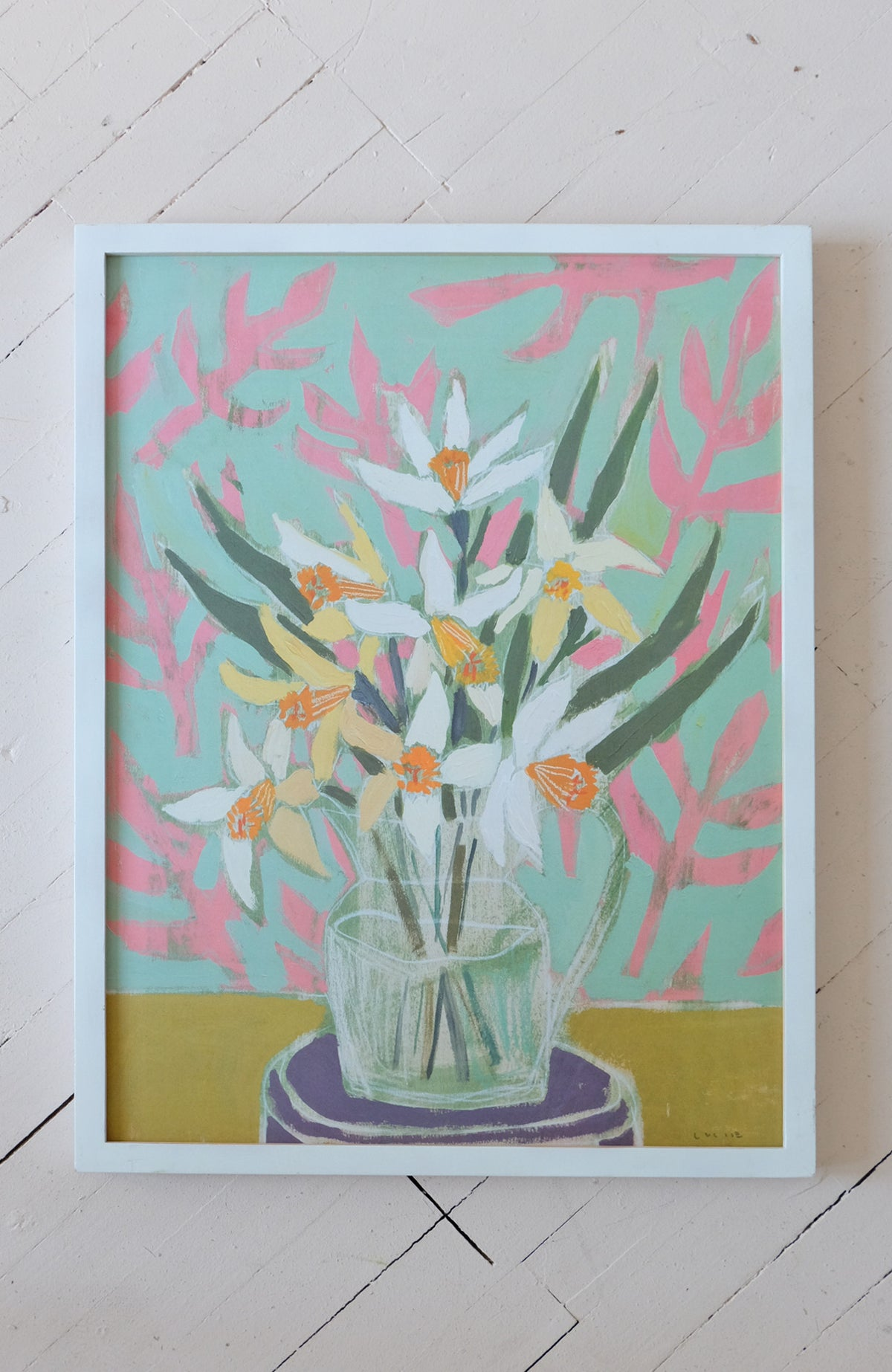 Daffodils - Flowers for Camille - Print