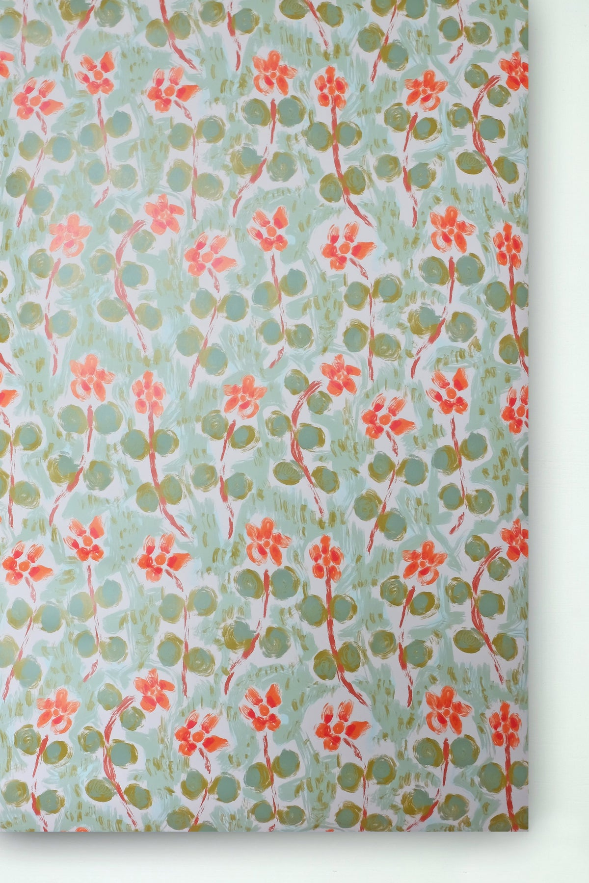 *NEW* Eila Wallpaper - Misty Green