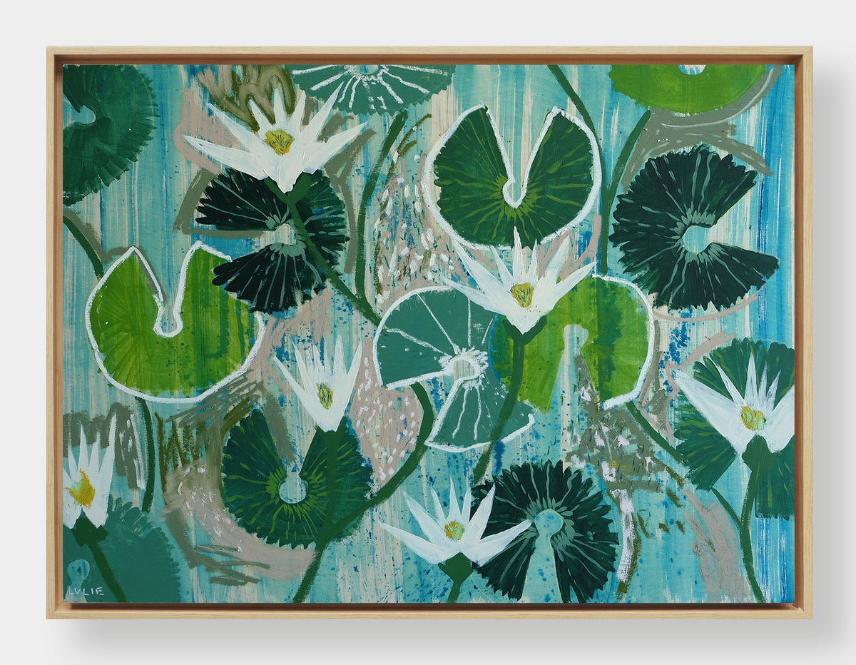 Aquatic Plant No. 1 - 30 x 40